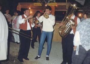 Impressionen vom ersten Lehrensteinsfelder Straßenfest 1987